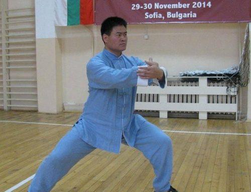 Тренирането на дзин в Тайдзицюан